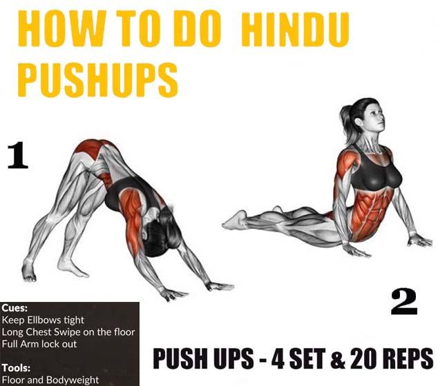 How to Hindu Pushups