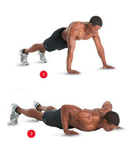Bodyweight - Wide Grip Push-Up