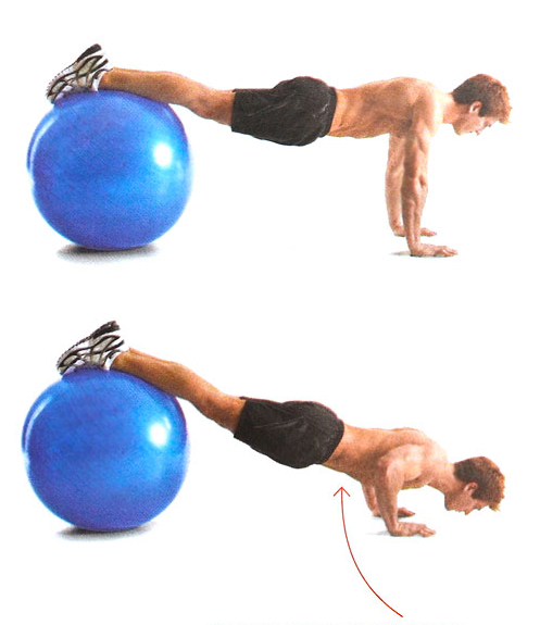 bodyweight train - decline pushup