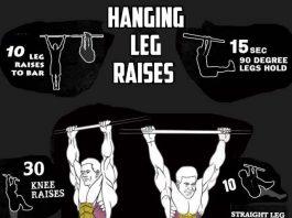 How to Do Hanging Leg Raises
