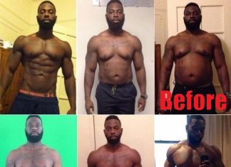 Coach Adonis Hill Weight Gain +70lb to Motivate Client to Lose Weight