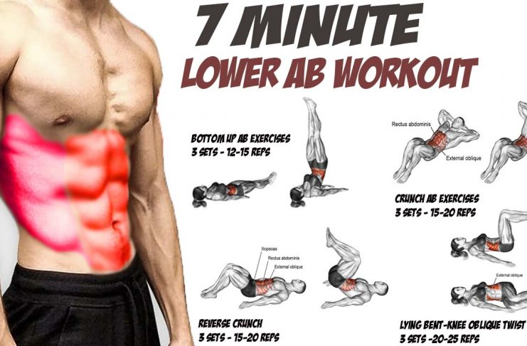 7 Minute Home Lower Ab Workout