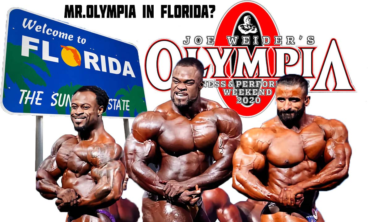 Mr. Olympia Moves to Florida - Fake News