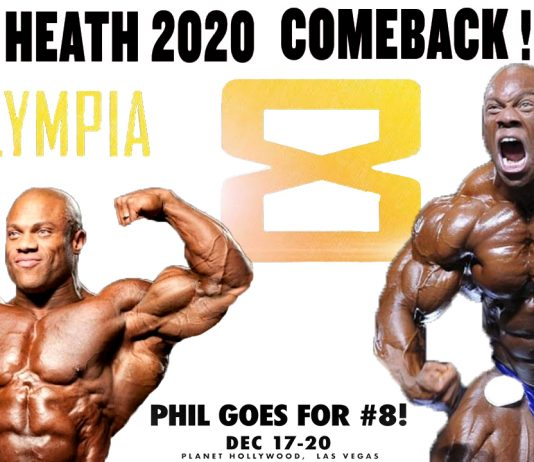 Phil Heath Announces His Return To The Olympia