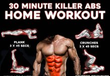 Training ABS at Home