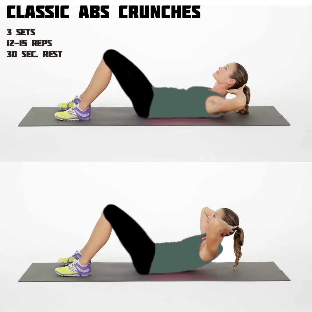 Abs Crunches Workout