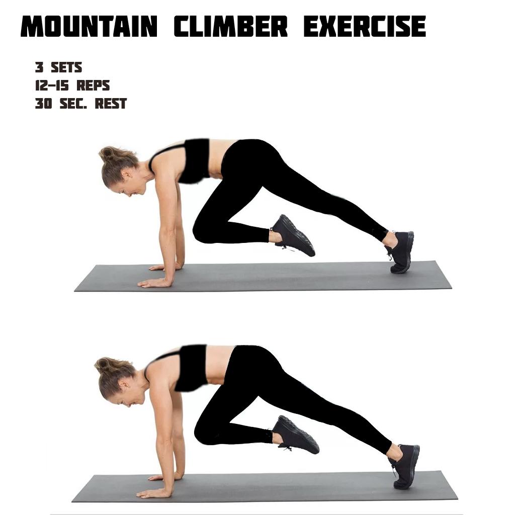 Mountain Climber Six Pack Workout