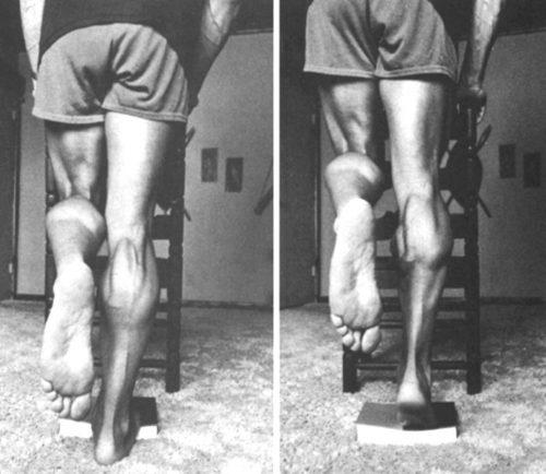 Perform Calf Raises - Arnold Schwarzenegger