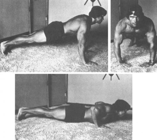 push ups - chest workout