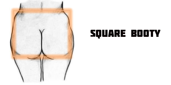 Women Square Booty