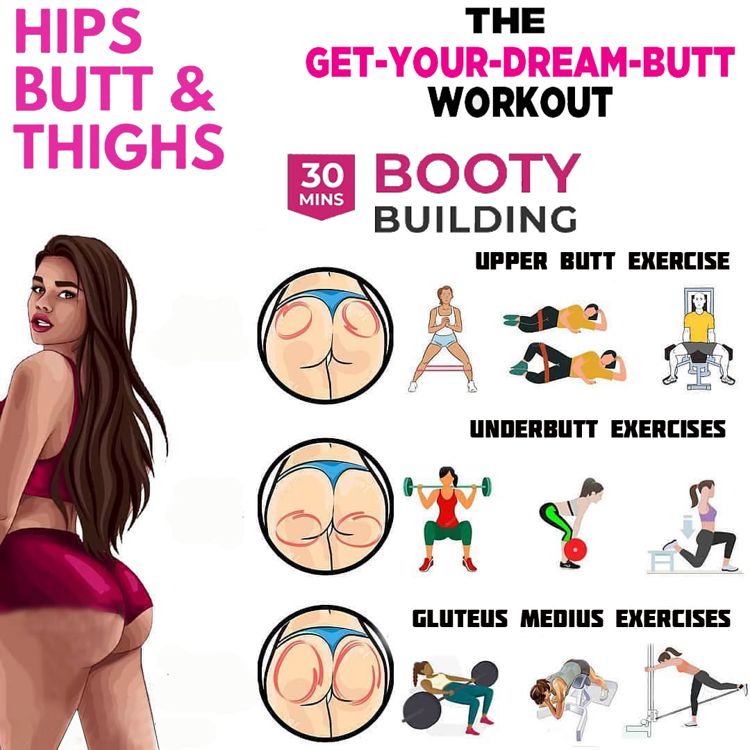 The Best Booty Isolation Workouts