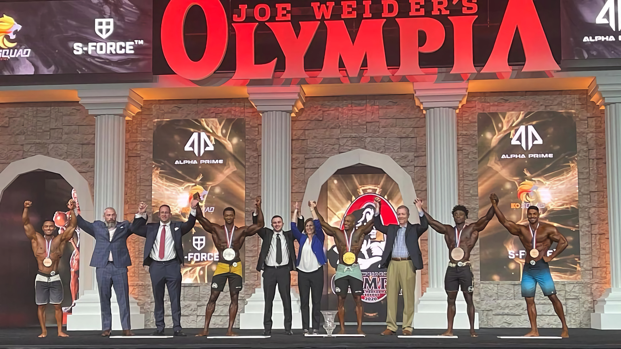 Men's Physique Mr. Olympia 2020 Awards