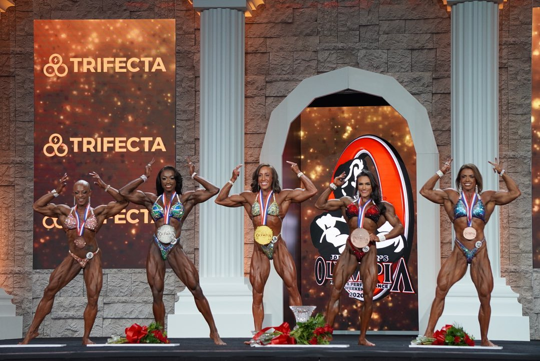 Categories - Women's Physique Olympia 2020