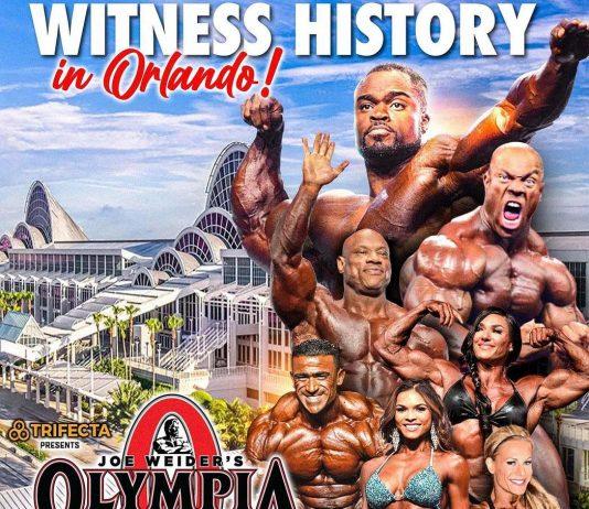 New Champions Mr. Olympia 2020
