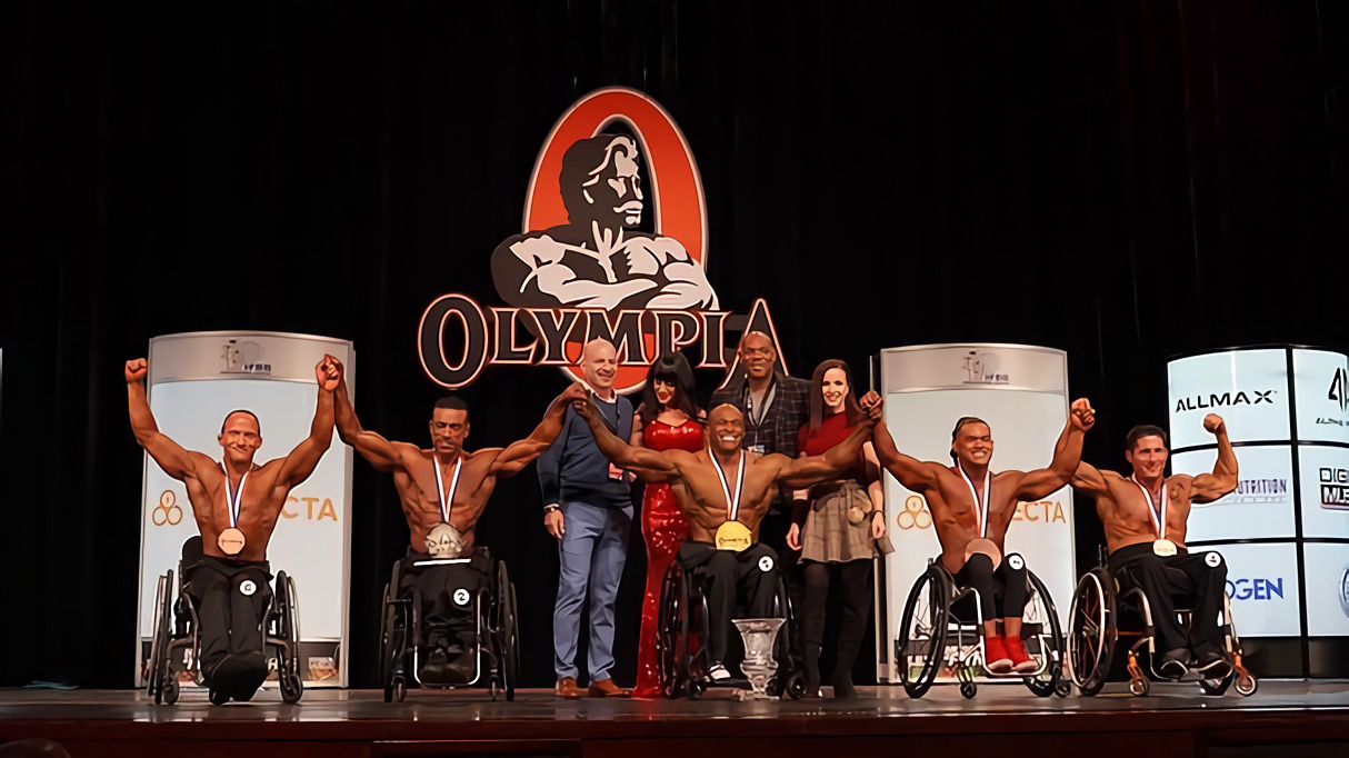 Wheelchair Categories - Mr. Olympia 2020