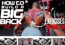 How to Build Big Back, Technique perform