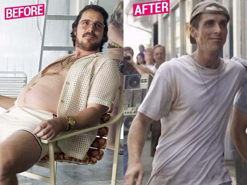 Christian Bale Weight Loss Story