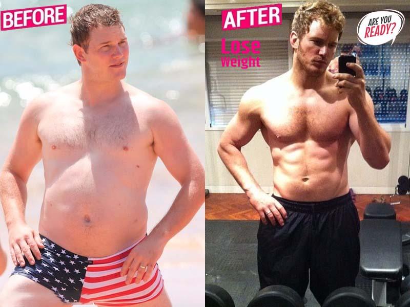 Chris Pratt lost weight stoty