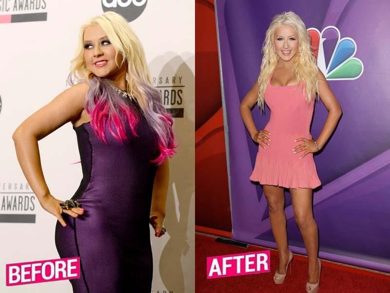 Christina Aguilera Weight Loss Story