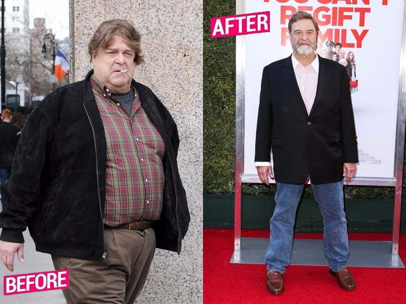 John Goodman lost weight story