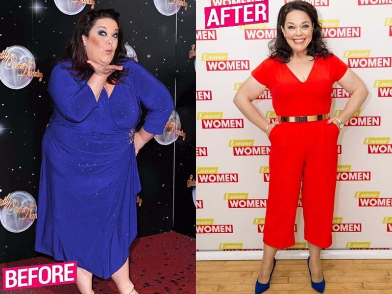 Lisa Riley lost weight story