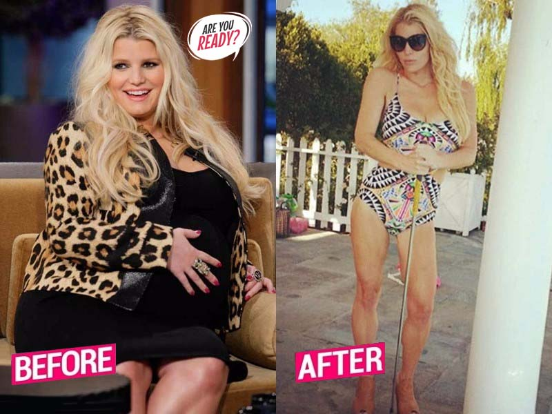 Jessica Simpson Weight Loss Story