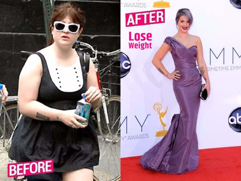 Kelly Osbourne Weight loss story
