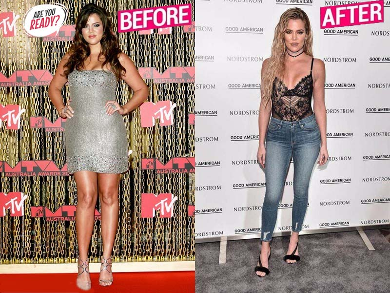 Khloe Kardashian Weight Loss Stroy