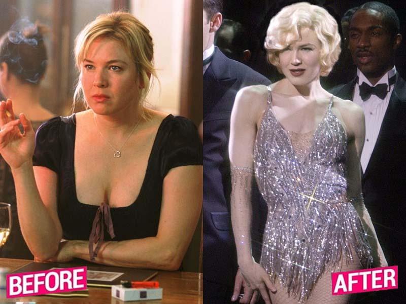 How Renee Zellweger weight lost story