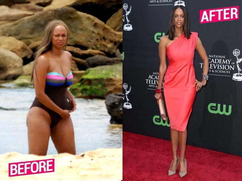 TyraBanks Weight Loss Story