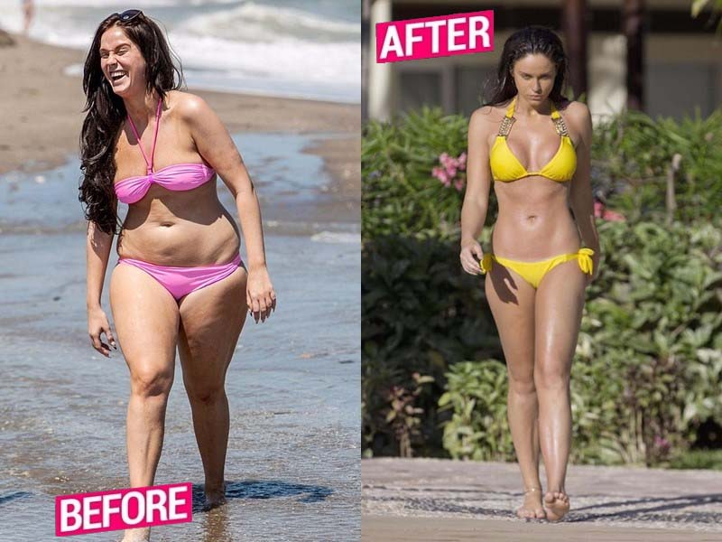 Vicky Pattison weight lost Story