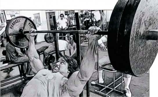 Incline Bench Arnold Press