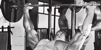 Chest Press Arnold Schwarzenegger