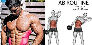 How to Do Dumbbell Oblique Crunch