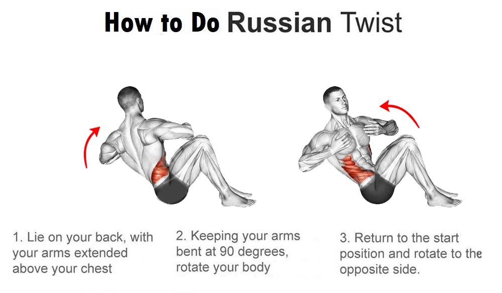 How to Do Russian Twist