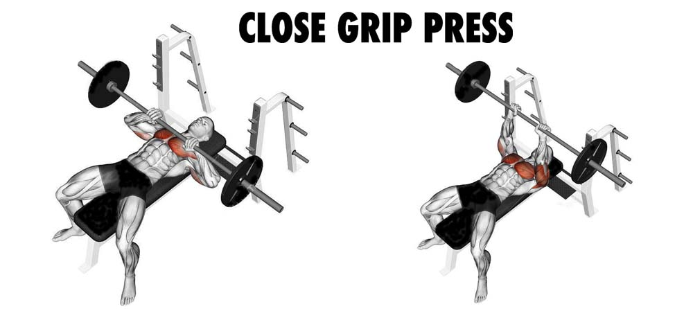 How to Bench Press Narrow Grip