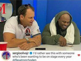 The Bodybuilding World Chose Shawn Rhoden over Kai Greene