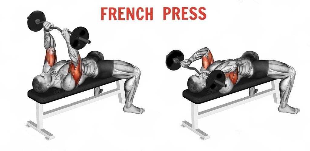 How to French Bench Press