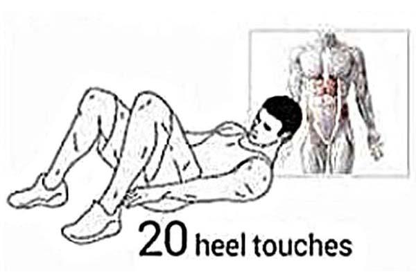 OBLIQUE Heel Touches