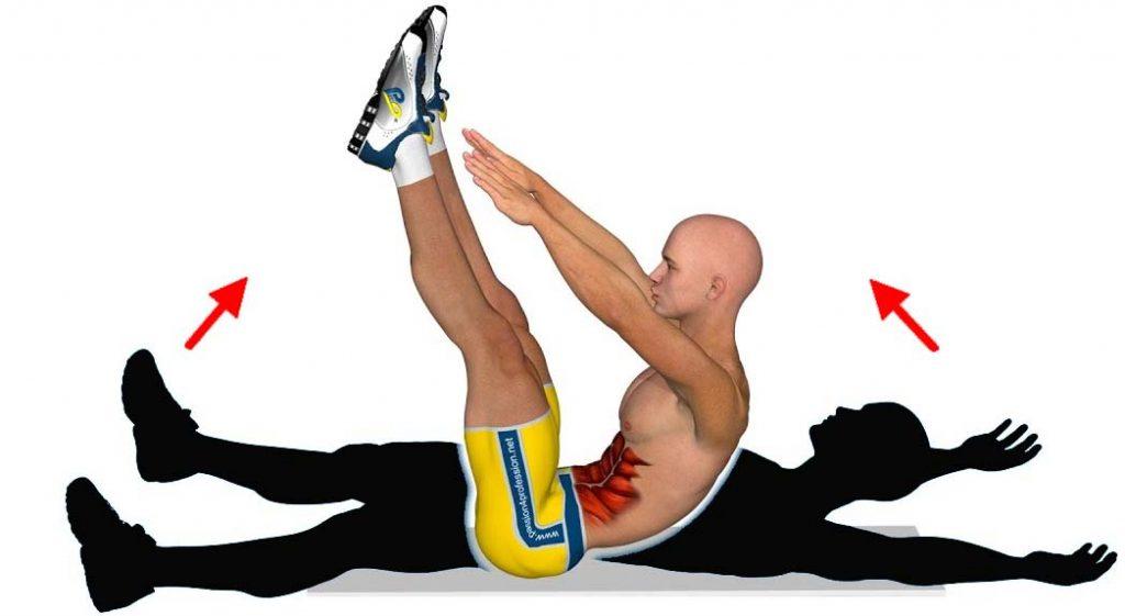 Benefits V-UP Exercise