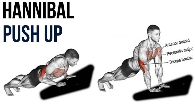 How to Hannibal push-ups