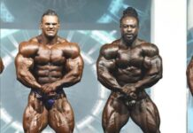 Nick Walker Take only 5th place on Mr. Olympia 2021
